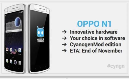 Oppo N1 CyanogenMod 1