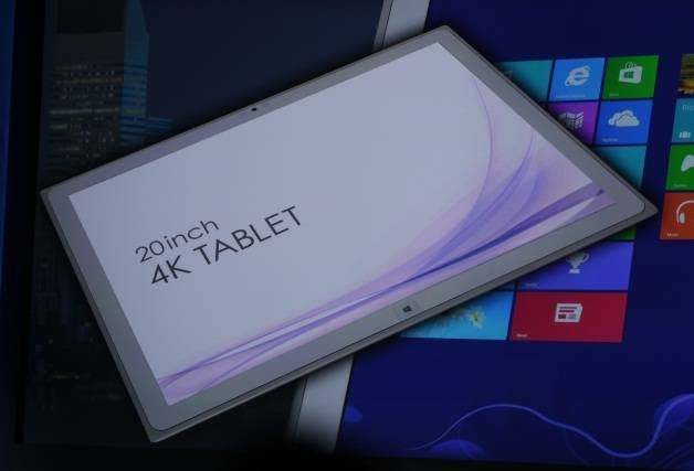 Panasonic tablet 4K 2