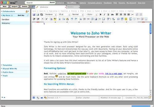 Zoho Writer 2 (500x200)