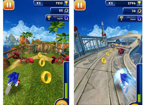 Sonic Dash Android 2