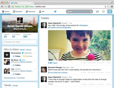Twitter interfaz 1