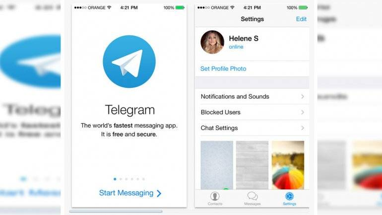 Telegram chat secretos 1