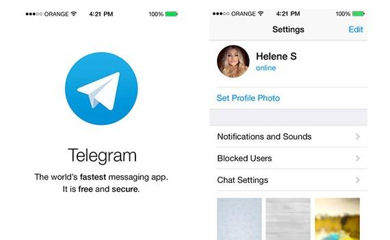 Telegram y WhatsApp 1