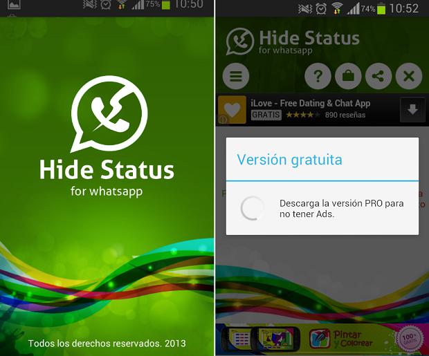 WhatsApp Android hora de conexión 1