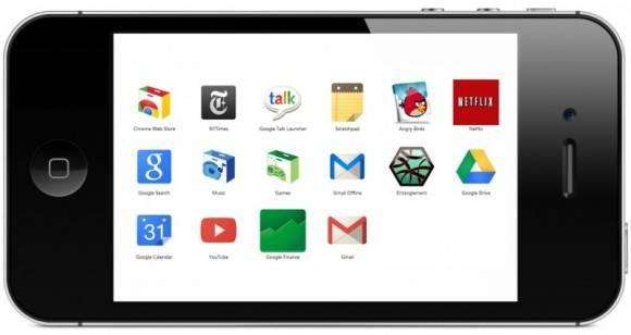 aplicaciones de Chrome iOS Android 2