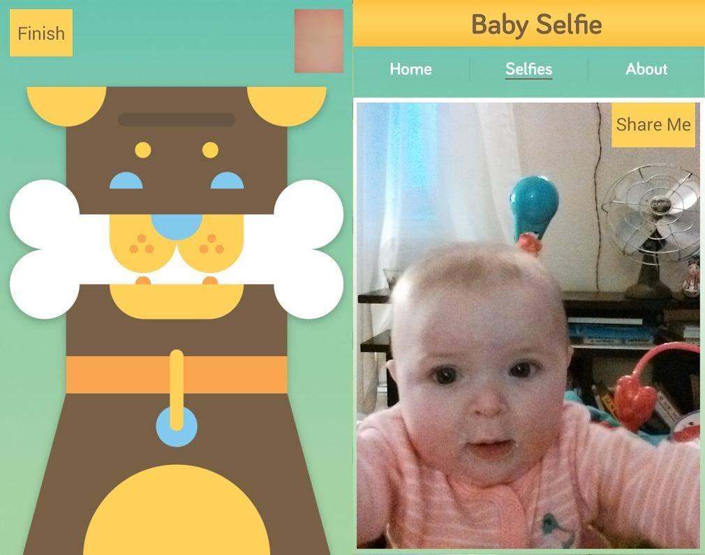 Baby Selfie app 1