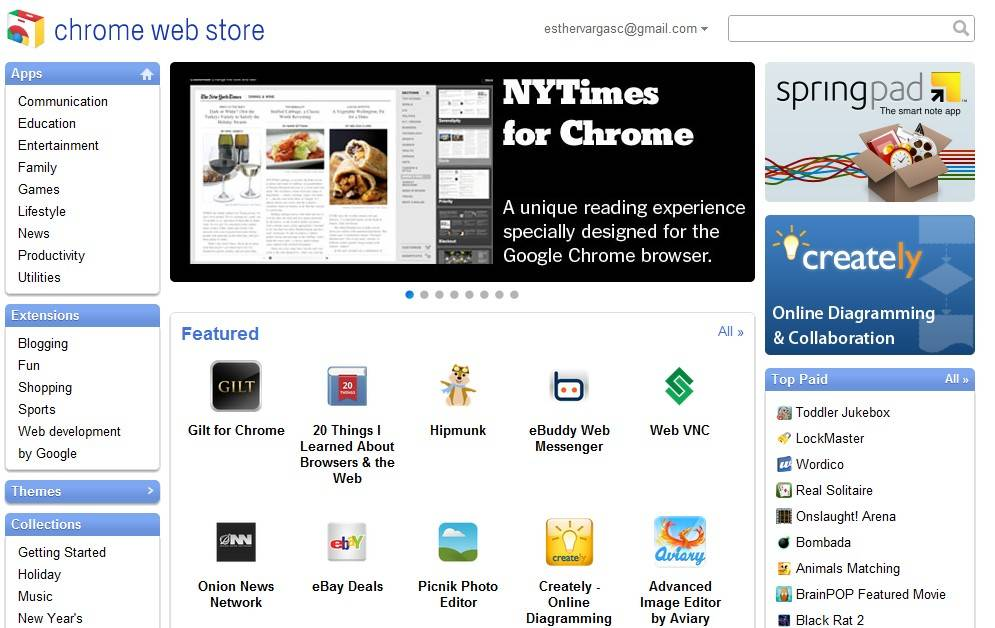 Chrome Web Store 2