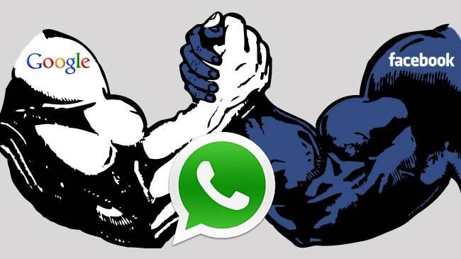 Google Facebook WhatsApp 1