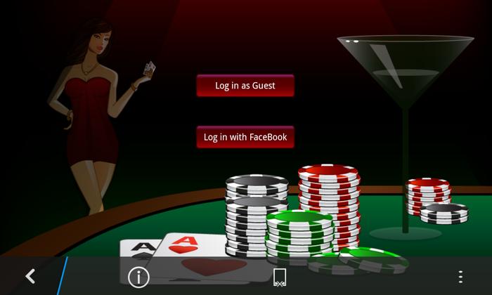 Texas Hold'em Poker Online BlackBerry 1