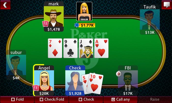 Texas Hold'em Poker Online BlackBerry 2