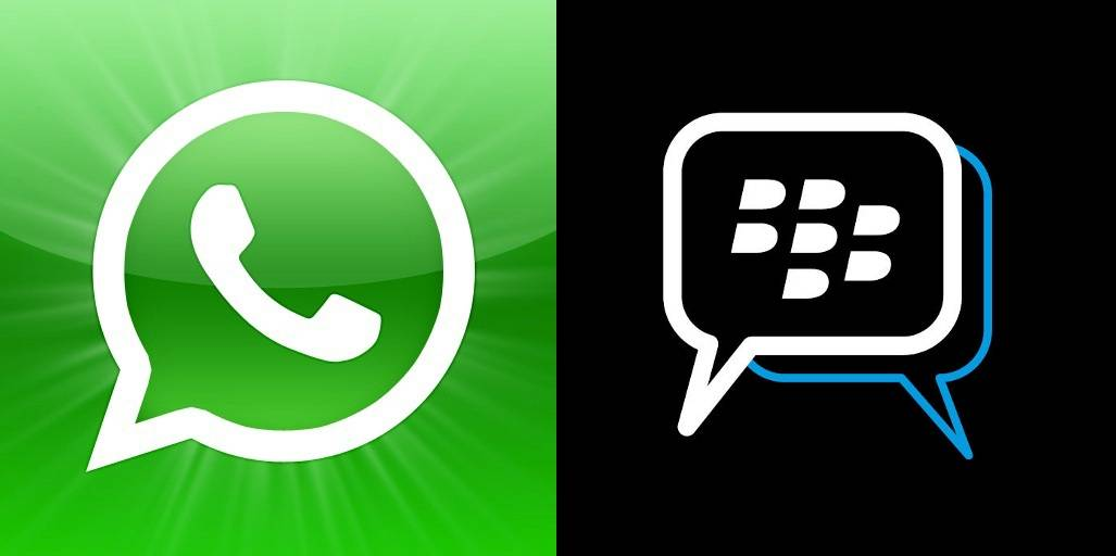 BlackBerry Messenger WhatsApp 2
