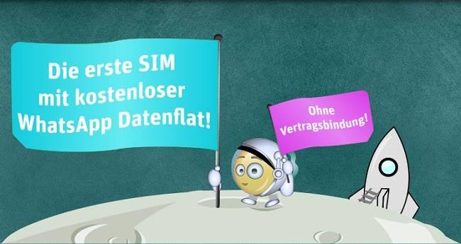 WhatsApp SIM E-Plus 2
