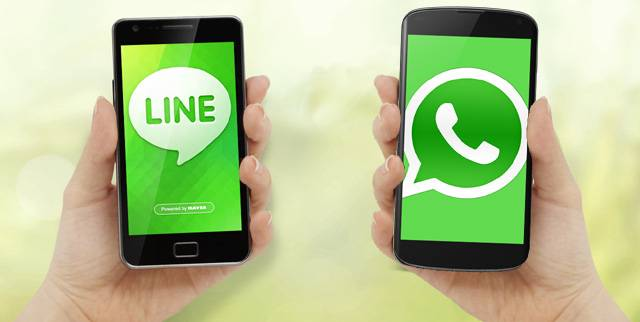 WhatsApp vs LINE 2
