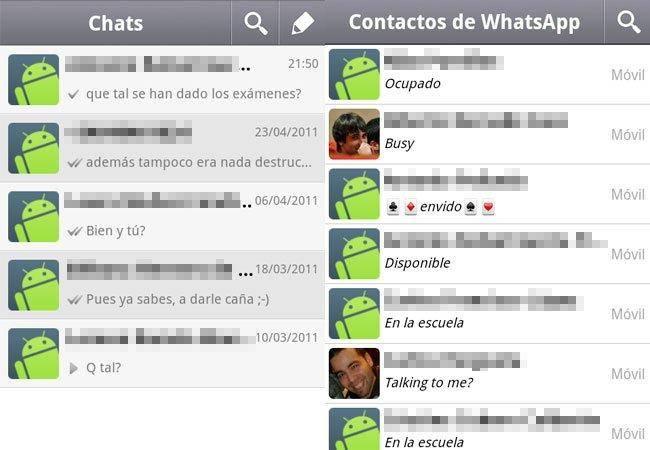 bloquear un contacto en WhatsApp para Android 2