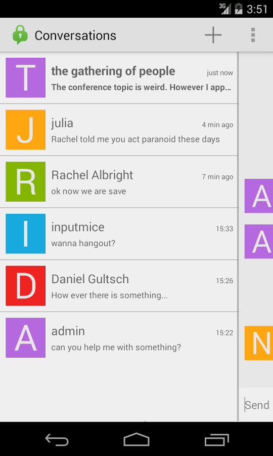 Conversations Android 2