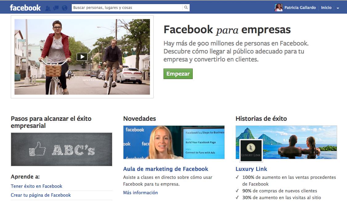 Facebook empresas 2