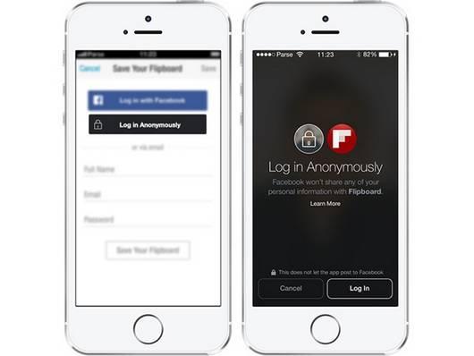 facebook anonimo