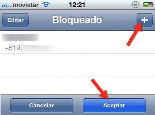 Eliminar contacto WhatsApp 2