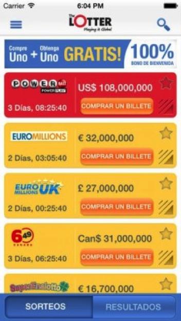 app loteria movil