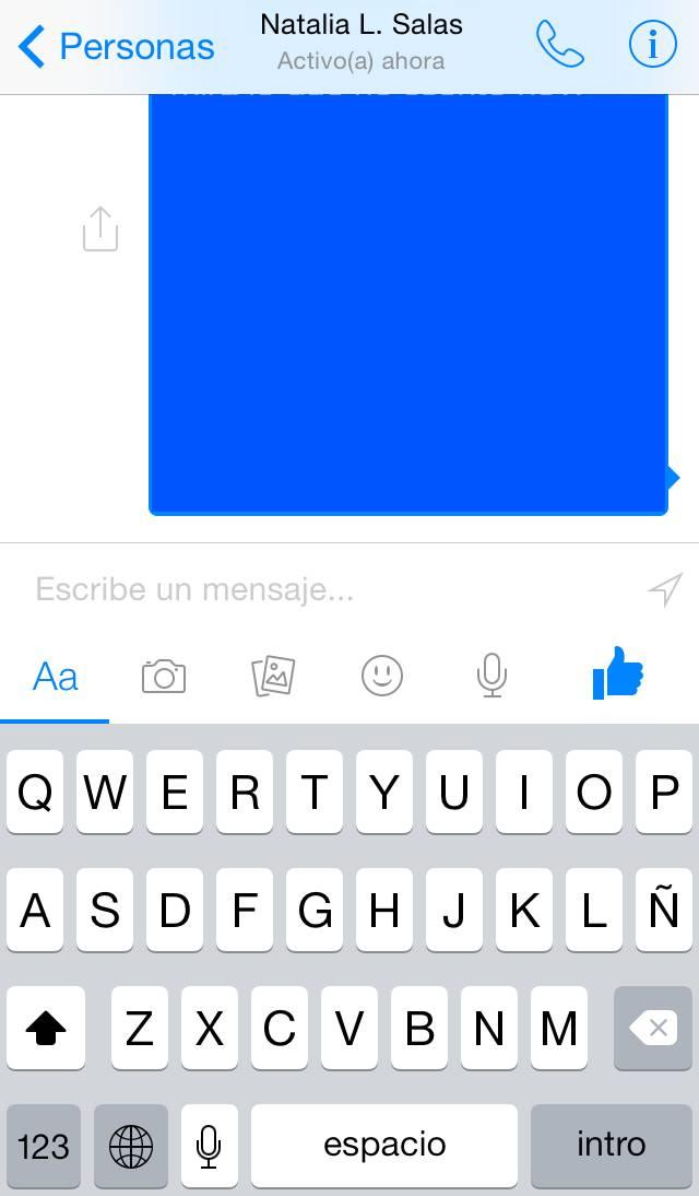facebook messenger - geolocalizacion