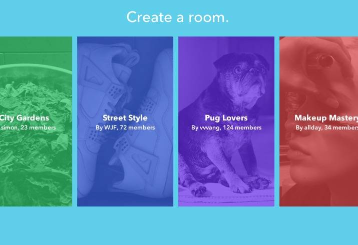 Rooms, la nueva app de Facebook, podría ser un plagio
