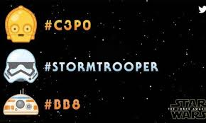 twitter emoticonos star wars