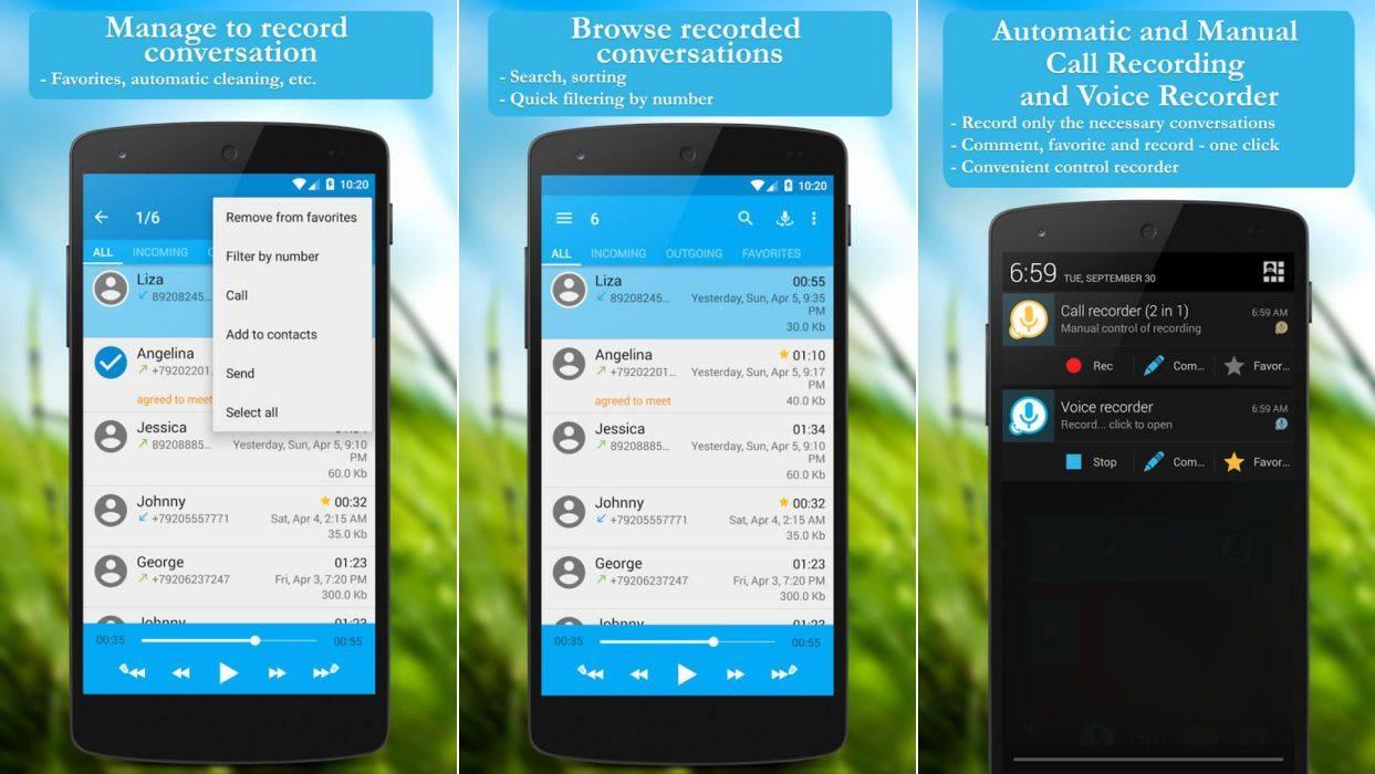 Aplicaciones para grabar llamadas 2