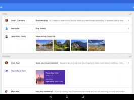 novedades en google inbox