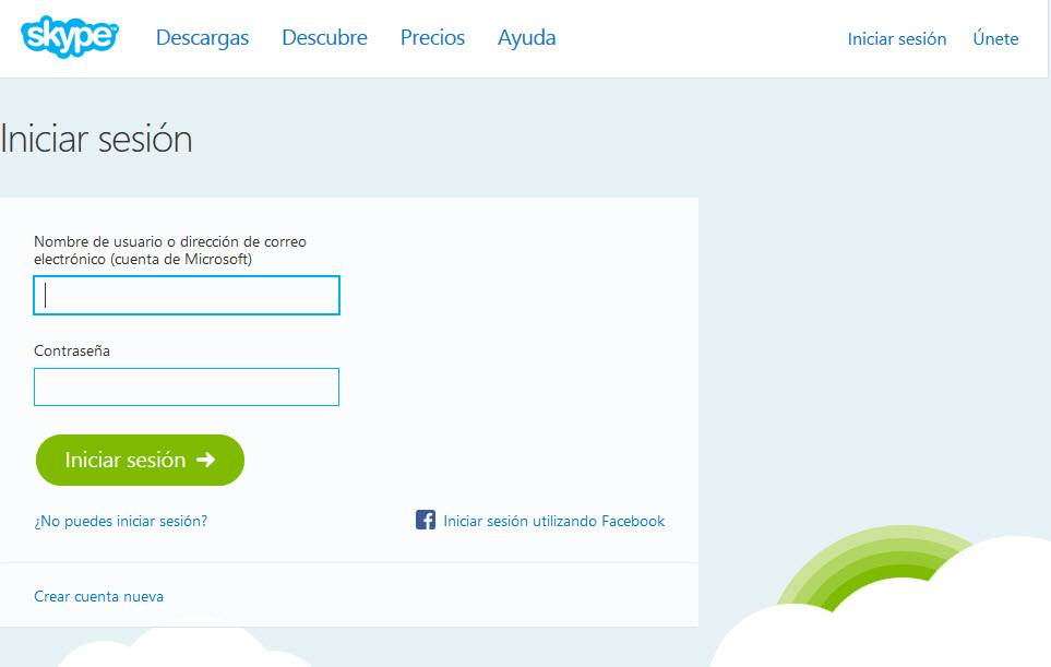 skype for web