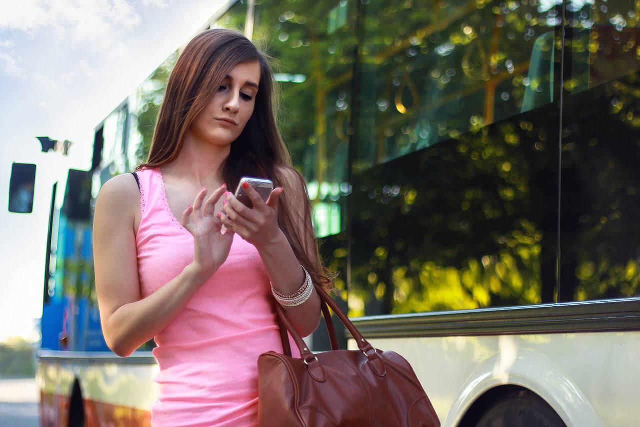 viaje smartphone