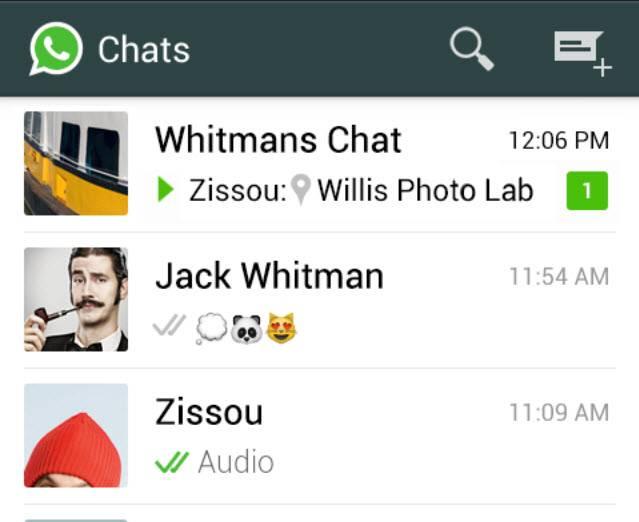 chats en whatsapp