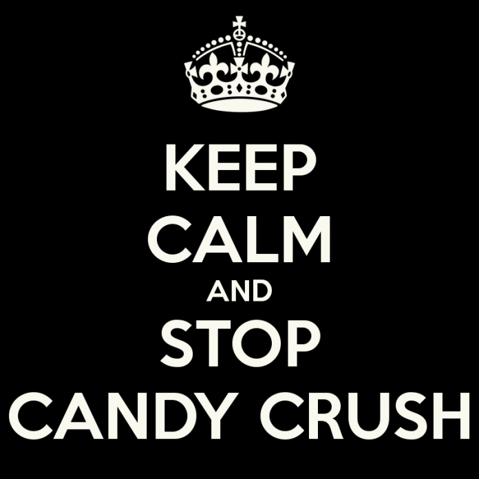 keep calm and stop candy crush