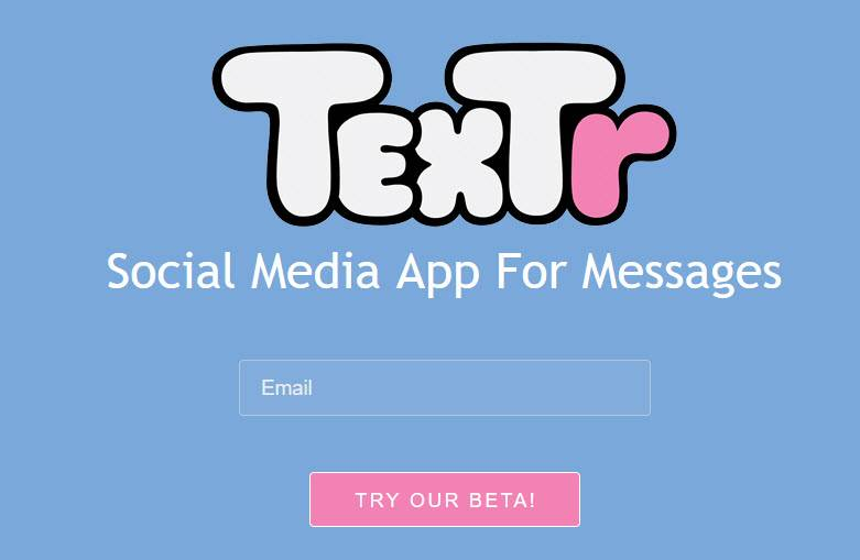 textr app mensajería instantánea