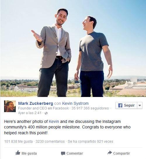 noticias de instagram