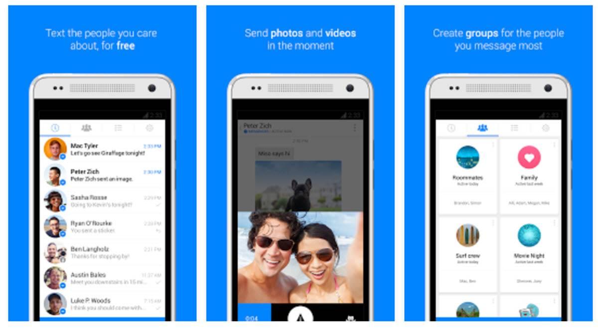 novedades de Facebook Messenger