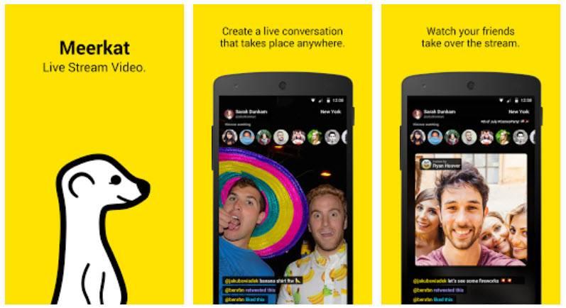apps para transmitir vídeo en directo