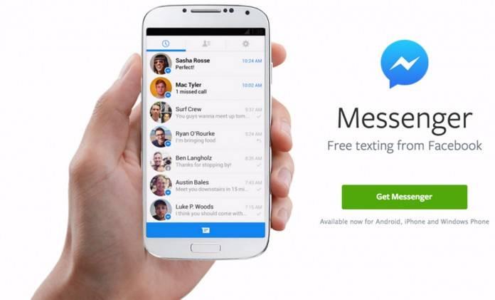 noticias en facebook messenger