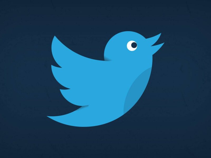 página de inicio de Twitter