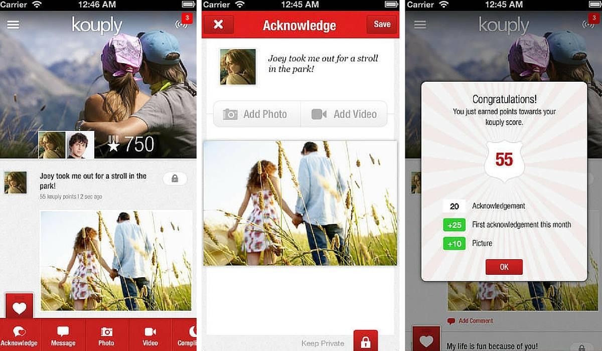 aplicaciones para parejas