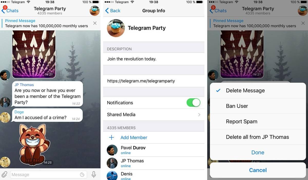 supergrupos de telegram