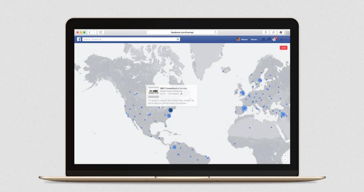 vídeos en directo en facekbook