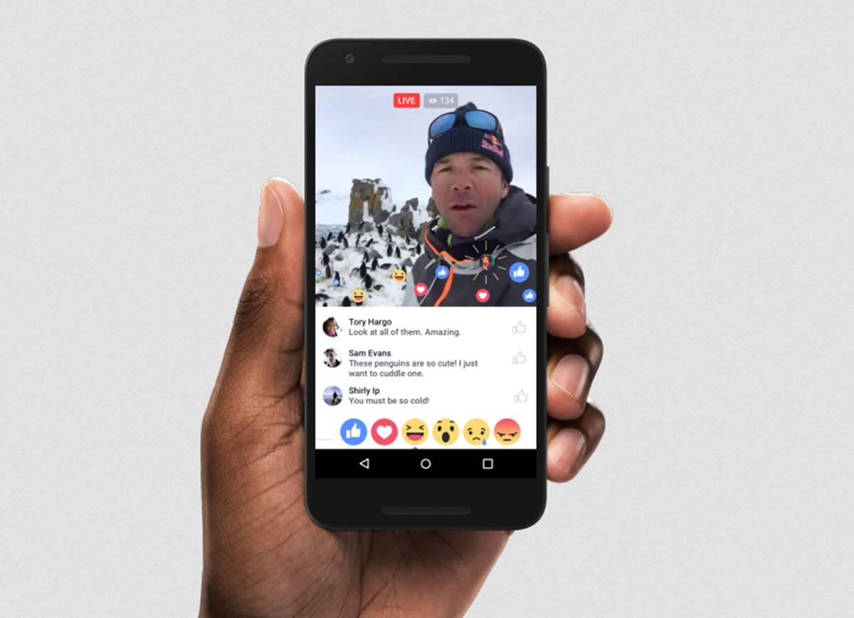 vídeos en directo en facebook