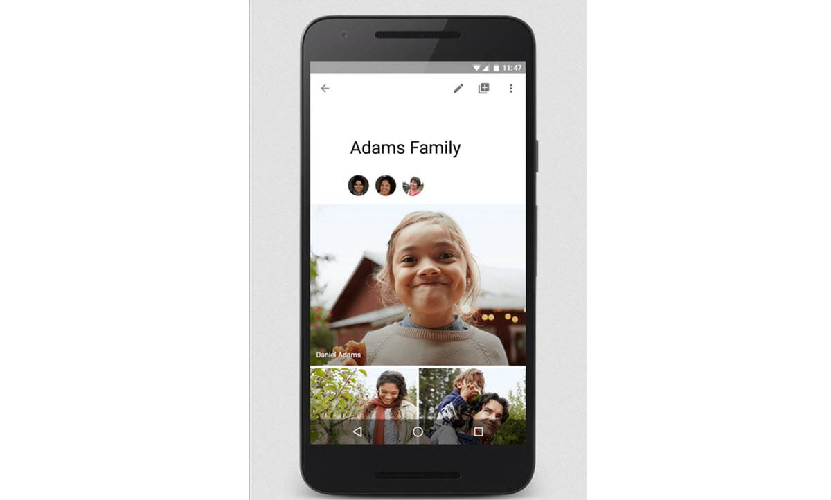 aplicación google photos