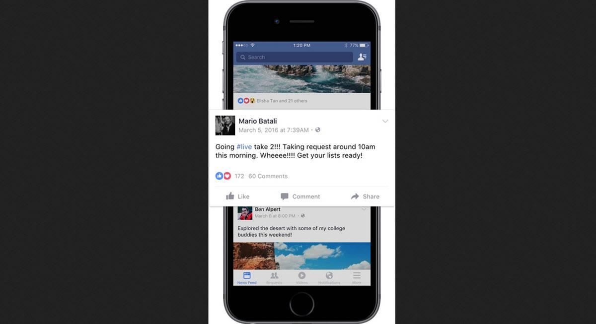 mejores prácticas de facebook live