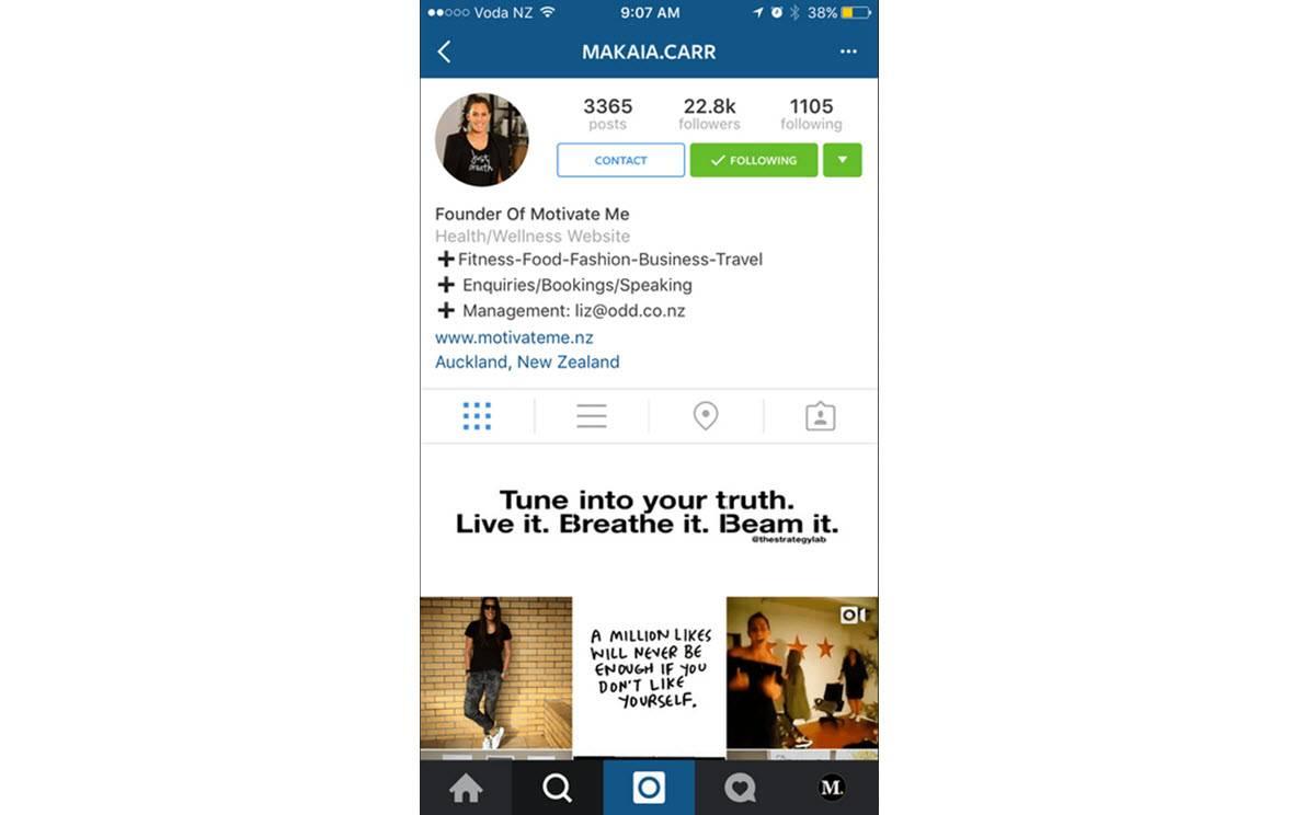 perfiles de negocios en Instagram