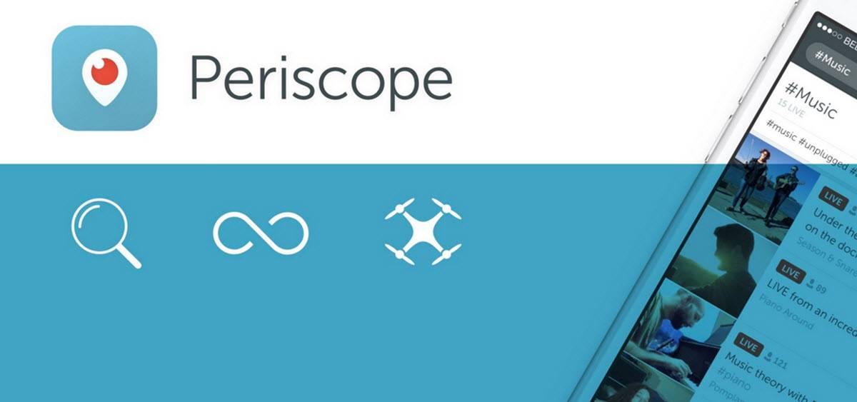 novedades de periscope