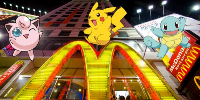 pokémon go ha llegado a japón mcdonalds