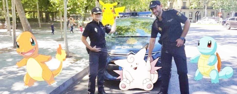 pokémon go seguridad policia
