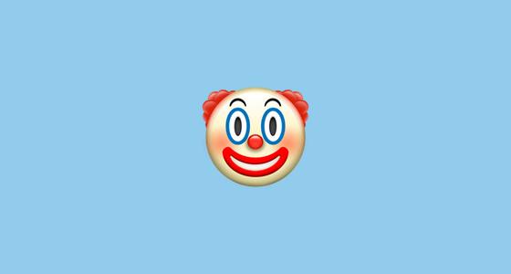 emoji payaso