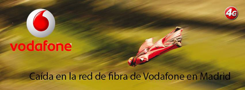 caida red fibra vodafone madrid